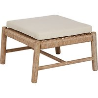 Croft Collection Islay Large Footstool, FSC-Certified (Eucalyptus), Natural