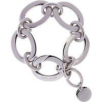 Karen Millen Custom Chain Bracelet, Silver