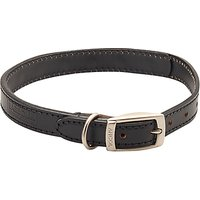Barbour Leather Dog Collar, Black