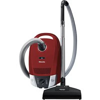 Miele Compact C2 Cat & Dog Powerline Vacuum Cleaner, Red