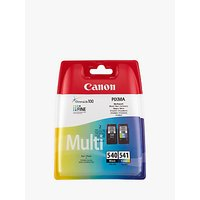 Canon PG-540 / CL-541 Ink Cartridge Multipack, Pack of 2