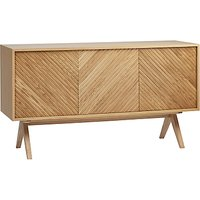 Bethan Gray for John Lewis Newman 3-Door Sideboard, Oak