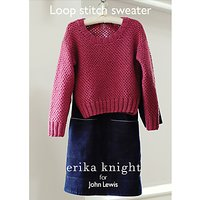 Erika Knight for John Lewis Loop Stitch Sweater Knitting Pattern