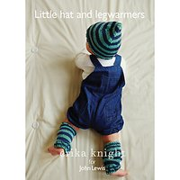 Erika Knight for John Lewis Baby Hat And Leg Warmers Knitting Pattern