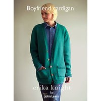 Erika Knight for John Lewis Boyfriend Cardigan Knitting Pattern