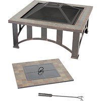 La Hacienda Edenton Firepit Table