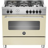 Bertazzoni MAS905MFES Dual Fuel Single Range Cooker