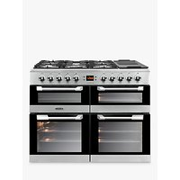 Leisure CS100F520X Cuisinemaster Freestanding Dual Fuel Range Cooker, Stainless Steel