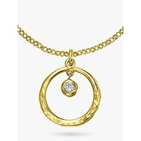 shop for Dower & Hall Open Circle Pendant at Shopo