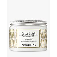 Origins Ginger Souffl Body Cream, 200ml