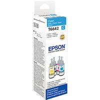 Epson Ecotank C13-T664 Colour Ink Bottles