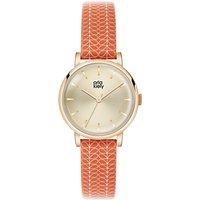Orla Kiely Womens Stem Print Strap Leather Strap Watch