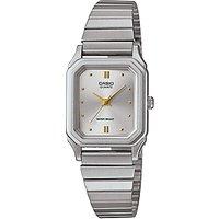 Casio LQ-400D-7AEF Womens Stainless Steel Bracelet Strap Watch, Silver