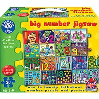 Orchard Toys Big Number Jigsaw Game