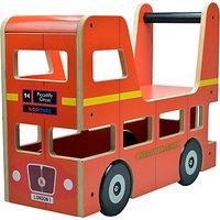Kiddimoto London Bus Ride-On Toy