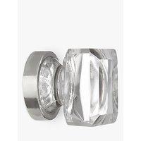 John Lewis Glass Cube Cupboard Knob