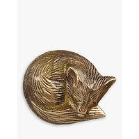 John Lewis & Partners Brass Fox Cupboard Knob