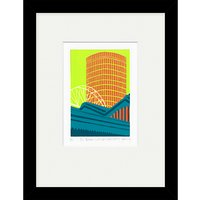 Jennie Ing - The Rotunda with Moor Street Station Limited Edition Framed Print, 34 x 44cm