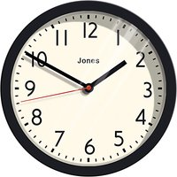Jones Cosmos Wall Clock, Dia. 25cm