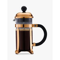 Bodum Chambord 3 Cup Coffee Maker, 350ml, Copper