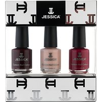 Jessica Classics Midi Vitamin Enriched Custom Colours Gift Set, 3 x 7.4ml
