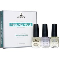 Jessica Peeling Nails Treatment Kit, 3 x 7.4ml