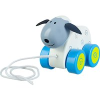 Orange Tree Sheep Pull Along Toy
