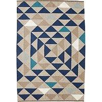 west elm Framed Triangles Wool Kilim Rug