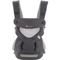 Ergobaby 360 Performance Baby Carrier, Carbon Grey