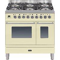 ILVE PDW906 Roma Freestanding Dual Fuel Range Cooker