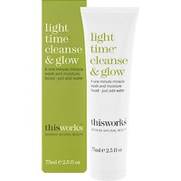 This Works Light Time Cleanse & Glow, 75ml