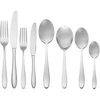 John Lewis Luna Cutlery Set, 44 Piece