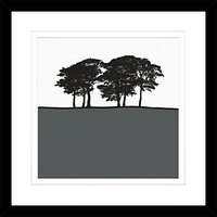 Jacky Al-Samarraie - Skipton Grey, Framed Print, 54 x 54cm