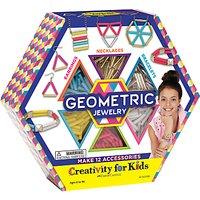 Creativity For Kids Geometric Jewellery Craft Kit
