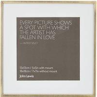 John Lewis Daya Photo Frame, 5 x 5