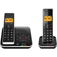 BT Xenon 1500 Cordless Telephone with Answering Machine, Twin DECT