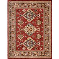 John Lewis Diamond Kazak Rug, Red