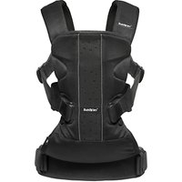 BabyBjrn One Air Baby Carrier, Black Mesh