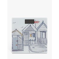 John Lewis Beach Huts Digital Bathroom Scale