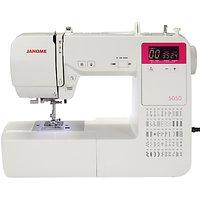 Janome 5050 Sewing Machine, White
