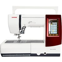 Janome Memory Craft 9900 Sewing Machine, White