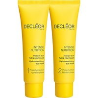 Declor Intense Nutrition Hydra-Nourishing Duo Mask