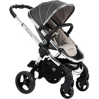 iCandy Peach Pushchair with Chrome Chassis & Truffle 2 Hood