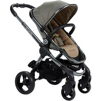 iCandy Peach Pushchair with Grey Chassis & Olive Hood