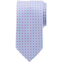 John Lewis Base Ditsy Flower Silk Tie