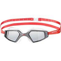 Speedo Aquapulse Max 2 IQfit Goggles, Red/Silver