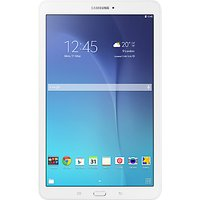 Samsung Galaxy Tab E Tablet, Quad-core, Android, 9.6, 8GB, Wi-Fi