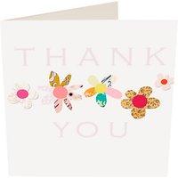 Caroline Gardner Flowers Thank You Card