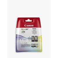 Canon PG-510 / CL-511 Ink Cartridge Multipack, Pack of 2