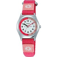 Lorus Childrens Time Teacher Daisy Nylon Strap Watch